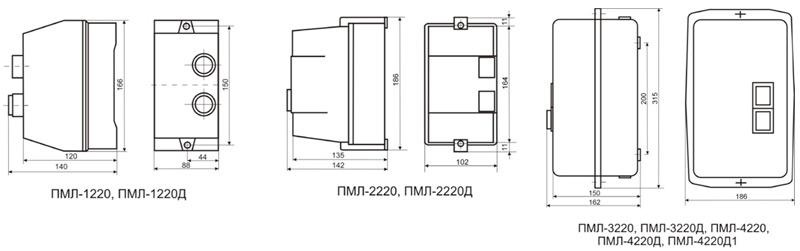 Магнитный пускатель пмл-1220 схема подключения5